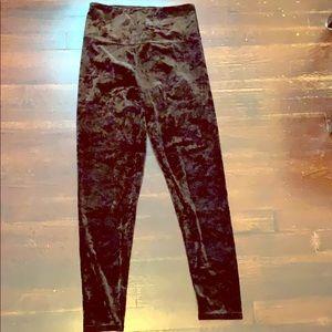 NWOT fashion nova velour high waist leggings